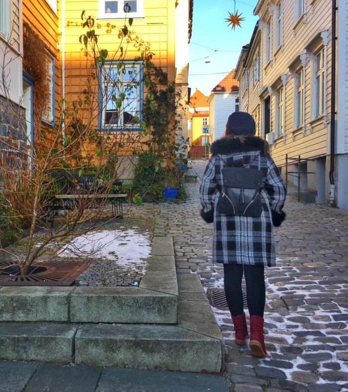 Solo travelling in Bergen, Norway